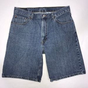 Levi's 550 Medium Wash Jean Shorts Men's 36